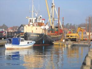 Hele flåden samlet i Rørvig Havn